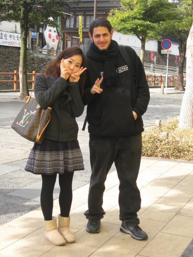 En Kokura con Iso Jeong