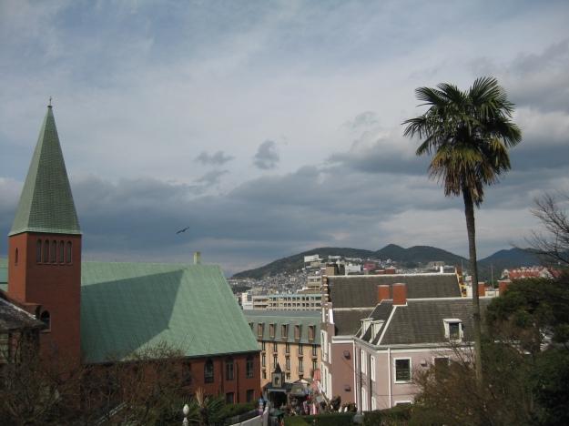 Vista desde la iglesia