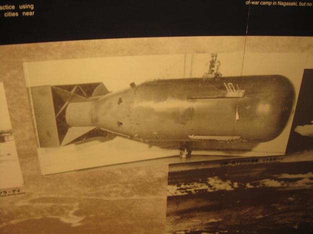 Foto de una de las bombas