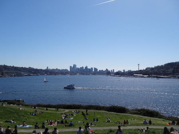 Seattle soleado y despejado!