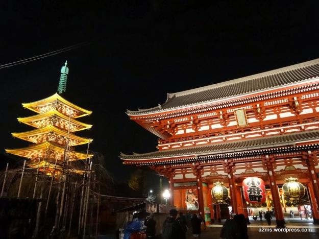 Asakusa de noche