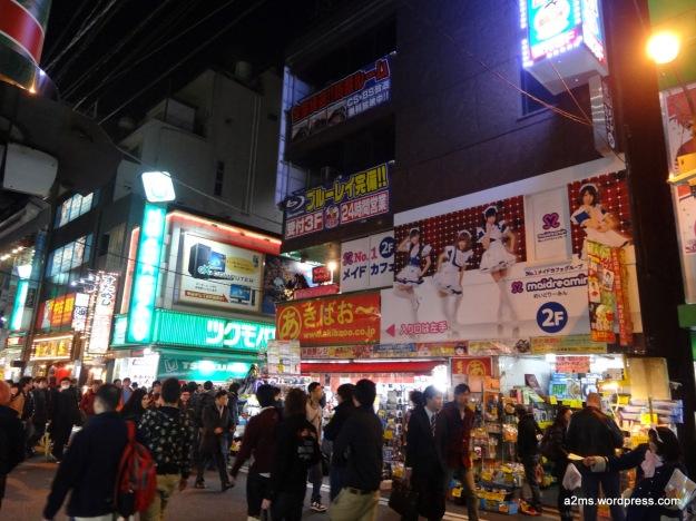 Maid Cafe en Akihabara